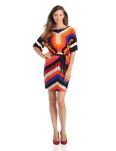 Trina Turk Women's Embarcadero Stripe Jersey Dene Dress, Multi, 2 - http://womencontemporarydress.ellprint.com/trina-turk-womens-embarcadero-stripe-jersey-dene-dress-multi-2/