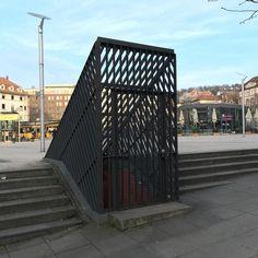 Eingang zum Proberaum #Stuttgart #Bunker #Marienplatz