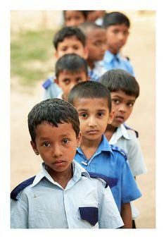 Schoolboys, Chakaria, Bangladesh