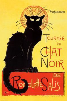 Steinlen - Chat Noir Poster