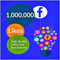 Buy Facebook Likes Facebook Followers and Post Likes in very cheap Prices 100% safe and Quality Services
