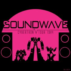 Soundwave Concert Tee by ~nella-nell