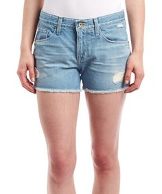 Loving this Indiana Blue Distressed Joey Shorts on #zulily! #zulilyfinds