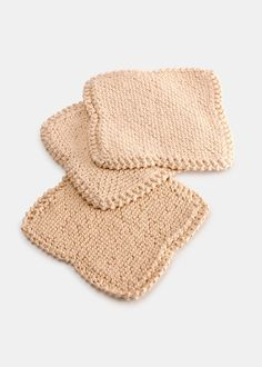 Whether it's for your kitchen counters, your car, or your body, these reusable scrubbers are ribbed for deep-cleaning action that's smooth and soft. Easily wipe down appliances, glass stove tops, pans, and even leather without ever causing a scratch. The deep-scrub action is perfect for skin exfoliation as well. They're hand-knitted by female artisans in a vintage dish cloth pattern, stronger and denser than regular cotton, and are biodegradable with no chemical dyes or fibers. Plus…