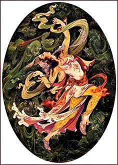 Joy Art, Iranian Art, Paper Piecing Patterns, Pencil Art, Islamic Art, Art Deco Fashion, Art Museum, Watercolor Art, Fantasy Art