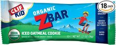 Amazon: CLIF KID ZBAR Organic Energy Bar Iced Oatmeal Cookie 18-Count ONLY $8.55 Shipped!