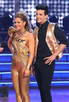 Candace Cameron Bure and Mark Ballas perform freestyle on 'Dancing With The Stars' season 18 on May 19, 2014.