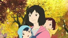 Wolf Children Hana