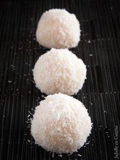 Recette de boules de coco / Perles de coco (gourmandise asiatique - Vegan)