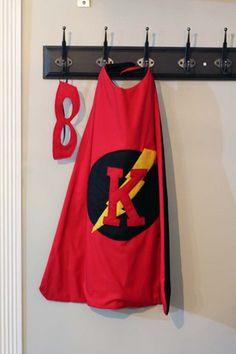 DIY Superhero Cape Mask10