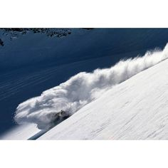 Buried in a turn Forrest Burki. #snowboarding