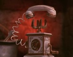 Madame Esmerelda's phone. Here Comes Peter Cottontail. 1971. Rankin & Bass. :)