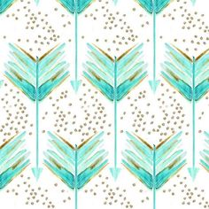 Little Woolf Boppy Slip Cover in Teal Watercolor by littlewoolf