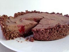 Chocolate Tart: sugar, gluten, dairy and egg free, plus vegan!