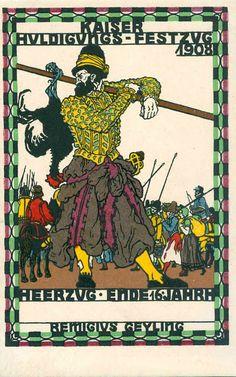 Postkarte no. 167 Remigius Geyling. ART & ARTISTS: Wiener Werkstätte postcards – part 1