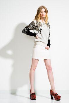 Rebecca Minkoff Pre-Fall 2014: Look 2 #fashion #mystyle