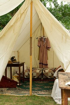 Civil War encampment-Women in the camp-