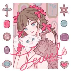 Arte Do Kawaii, Kawaii Art, Kawaii Anime Girl, Anime Art Girl, Manga Girl, Anime Girls, Fanarts Anime, Anime Chibi, Manga Anime