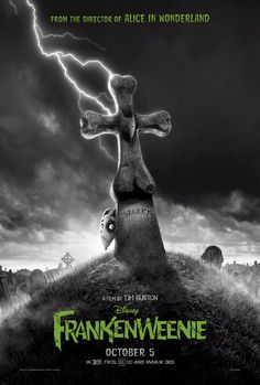 Frankenweenie , starring Winona Ryder, Catherine O'Hara, Martin Short, Martin Landau. Young Victor conducts a science experiment to bring his beloved dog Sparky back to life, only to face unintended, sometimes monstrous, consequences. #Animation #Comedy #Family #Horror #Sci-Fi