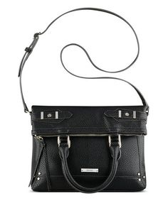 Loving this Black New Frontier Fold-Over Crossbody on #zulily! #zulilyfinds