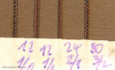 Plain laid ropes from mm up to cable laid ropes 2 mm - Masting, rigging and sails - Model Ship World by the Nautical Research Guild How To Make Rope, What Is Need, Model Ships, Thread Crochet, Fly Tying, Ropes, All The Colors, Nautical, Cable