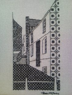 The House in Blackwork