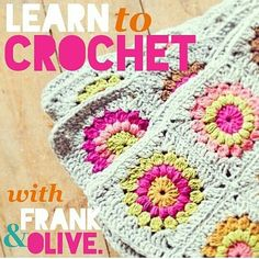 Learn to Crochet the Frank&Olive way. Exclusive workshops in Birmingham 2nd November and Coventry 8th November. See http:/www.frankandolivecrochet.com for details, or mail info@frankandolivecrochet.com