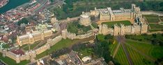 Windsor Castle - Evolved Norman Motte and Bailey Castle in England