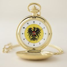 #Austrian coat of arms pocket watch - #country gifts style diy gift ideas