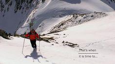 Yo digo: jodeeeeerrrr!!!!  Follow the dream by @Pyreneesattitude!! #freeride #backcoutry skiing #powder #baqueria @liberty skis # kaskofsweden