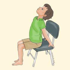40 Kid Friendly Chair Yoga Poses