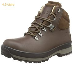 27bfef28fd7a Northwest Territory Mens Terrain Lace UP Premium Leather Upper Waterproof  Walking Hiking Trekking Boot