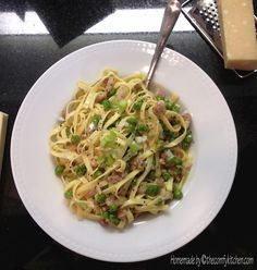 The Comfy Kitchen - pasta carbonara