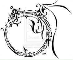 Ouroborous tattoo idea. Something delicate like this, or very similar
