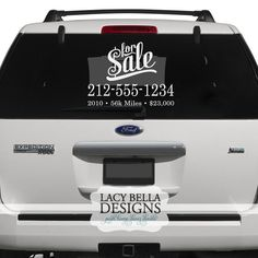 Car decals on pinterest car decals vinyl lettering and for The most important thing in backing a motor vehicle is