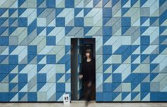 Baux acoustic tiles and panels at KPMG workspace. Learn more at http://www.relaydesignagency.co.uk/spotted/