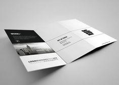 Creative studio brochure design inspiration 2 20+ Simple Yet Beautiful Brochure Design Inspiration & Templates