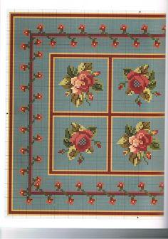 mini rug to stitch
