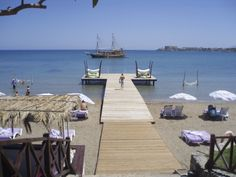 Escape Beach in North Cyprus - the place to be in Summer 2014. Book now with www.estatravelgroup.com