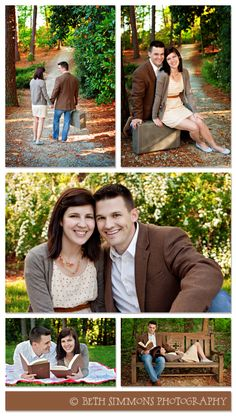 lovely poses for an engagement session