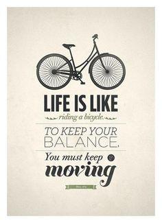 Biking in life