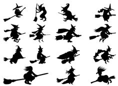 witch silhouette - חיפוש ב-Google