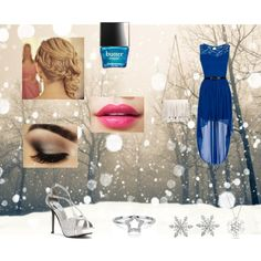 Christmas Party by ambertjedegroot on Polyvore featuring mode, Touch Ups, Proenza Schouler, Adina Reyter, Van Cleef & Arpels, Bling Jewelry and Butter London