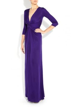 Issa London Gown in Purple