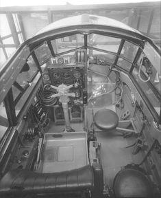 Mk I cockpit internal Air Force Aircraft, Ww2 Aircraft, Bristol Blenheim, Hawker Hurricane, Ww2 Planes, Vintage Airplanes, Flight Deck, Royal Air Force, World War Two