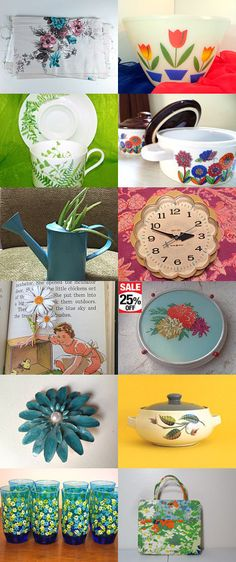 Spring is in the Air! by Cheryl on Etsy--Pinned+with+TreasuryPin.com