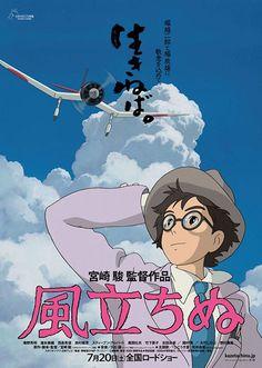 """SI ALZA IL VENTO Per il suo addio, Miyazaki si concentra unicamente sul tema a lui più caro: il volo. Non si tratta, però, di un vezzo da prima donna, quanto piuttosto di una summa poetica della sua gloriosa carriera e, così, per accentuare questa vena romantica, ha scelto un inusuale neorealismo animato, intimo e toccante come pochi altri. RSVP: """"Porco Rosso"""", """"Una tomba per le lucciole"""". Voto: 9."""