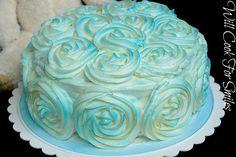 Strawberry Daiquiri Rose Cake - Will Cook For Smiles