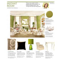 Instant Room from House Beautiful Magazine Indian Room, Layla Grayce, Painted Shells, Beautiful Homes, House Beautiful, How To Make Ornaments, Design Reference, Light Table, Living Room Decor