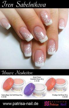 Bridal nails idea